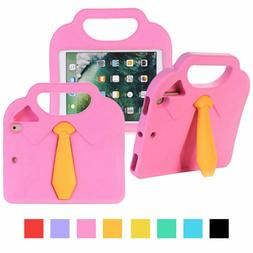 Shockproof Rubber Stand Tablet Case with Handle For Apple iP