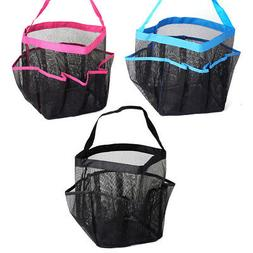 Shower Caddy Mesh 8 Pocket Portable Quick Dry Travel Tote Ca