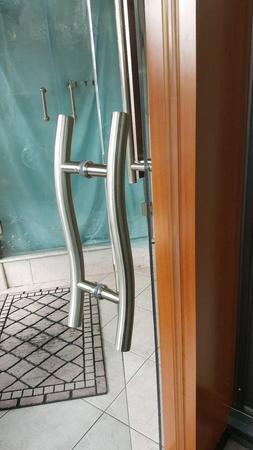 shower door 6 or 8 curved ladder
