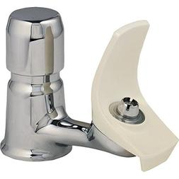 Single Handle Deck Mount Drinking Fountain Sink with Bubbler