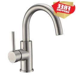 Sink Bar Faucet in Stainless Steel, Prep Faucet, Small Kitch