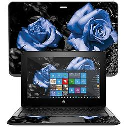 """Skin For HP ProBook x360 11""""  – Blue Roses 