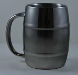 Stainless Steel Cup/mug with handle 14 oz with Double Wall