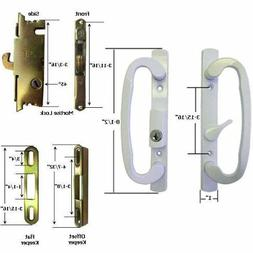 STB Sliding Glass Patio Door Handle Kit with Mortise Lock an
