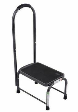 Step Stool with Handle Platform One Step Stool Safety Grip N