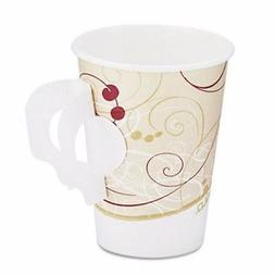 Symphony 8-oz. Paper Hot Cup with Handle, 1,000 Cups