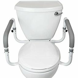 toilet safety frame by  - adjustable, compact support hand r