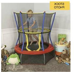 Skywalker Trampolines Mini Bouncer with Enclosure Net – Ki