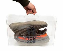 Transparent Sneaker Storage Display Box with Handle The Hot