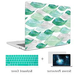 TwoL Hard Plastic Laptop Case with Keyboard Cover and Screen