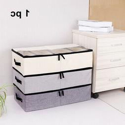 US With Handle Storage Box Under The Bed Breathable Square S