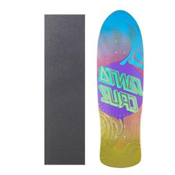 "Santa Cruz Vertigo Flow Dot 9.4"" Skateboard with Grip Tape"
