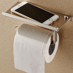 Wall Mounted Bathroom Toilet Paper Holder Rack Tissue Roll S