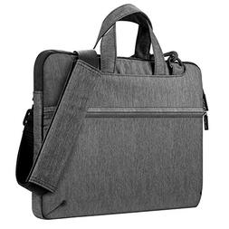 "Plemo 13""-13.3"" Waterproof Laptop Briefcase, 3-Layer Shockpr"