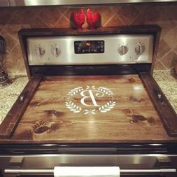 Wooden Stove Top Covers *Personalized wooden noodle board